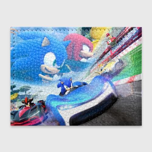 Обложка для студенческого билета SONIC RACER Фото 01