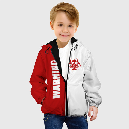 Детская куртка 3D Warning Virus Фото 01