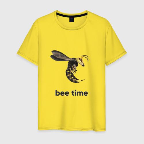 Мужская футболка хлопок Bee time Фото 01