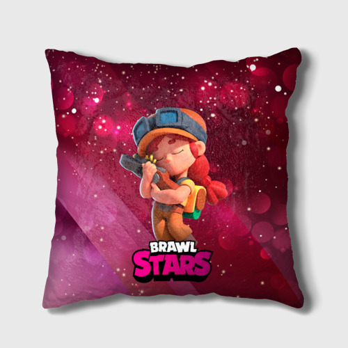 Подушка 3D Jessie brawl stars One фото