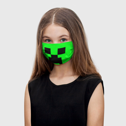 Детская маска (+5 фильтров) Маска Creeper Фото 01