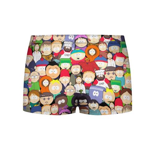 Мужские трусы 3D South Park персонажи Фото 01