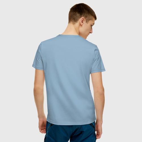 Мужская футболка хлопок Парусник Фото 01