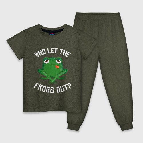 Who let the frogs out?