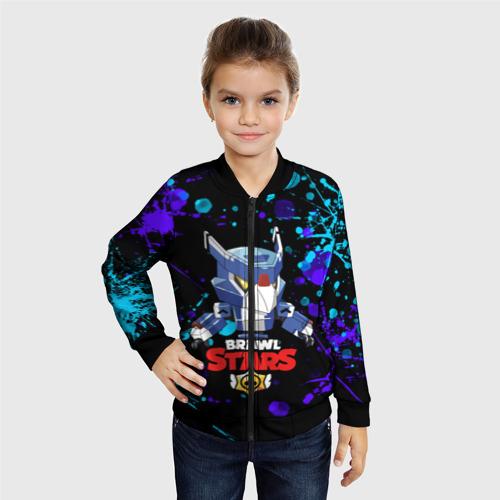 Детский бомбер 3D BRAWL STARS MECHA CROW. Фото 01