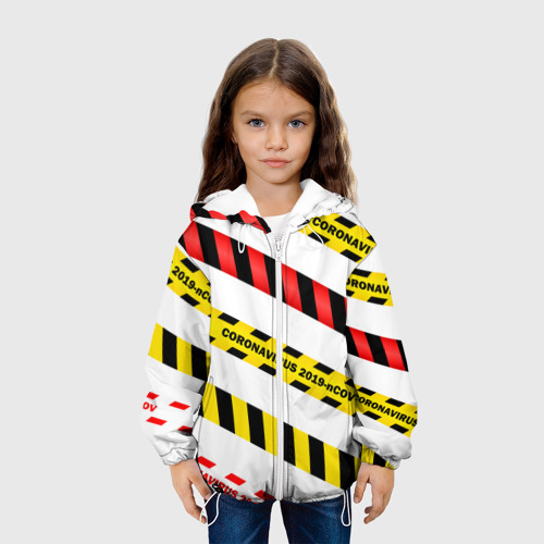 Детская куртка 3D 2019-nCoV Коронавирус Фото 01