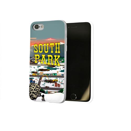 Чехол для Apple iPhone 7/8 soft-touch NEW Южный Парк Фото 01