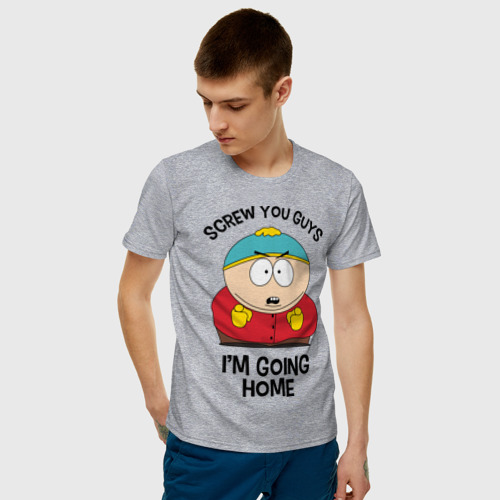 Мужская футболка хлопок South Park, Эрик Картман Фото 01