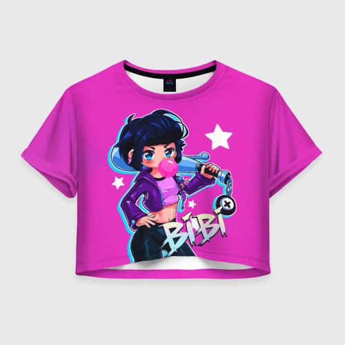 Женская футболка Crop-top 3D BIBI Фото 01