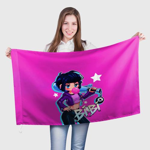 Флаг 3D BIBI Фото 01