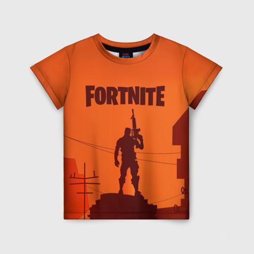 Детская футболка 3D FORTNITE за  920 рублей в интернет магазине Принт виды с разных сторон