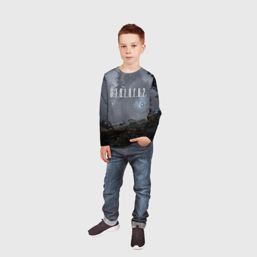 Детский лонгслив 3D S.T.A.L.K.E.R. 2 за  1640 рублей в интернет магазине Принт виды с разных сторон
