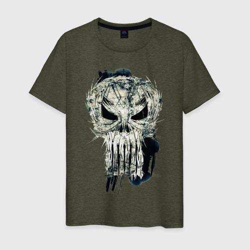 Мужская футболка хлопок Каратель. Череп Фото 01