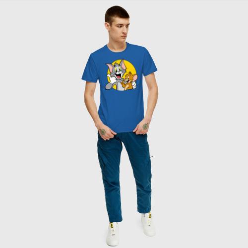 Мужская футболка хлопок Tom&Jerry Фото 01