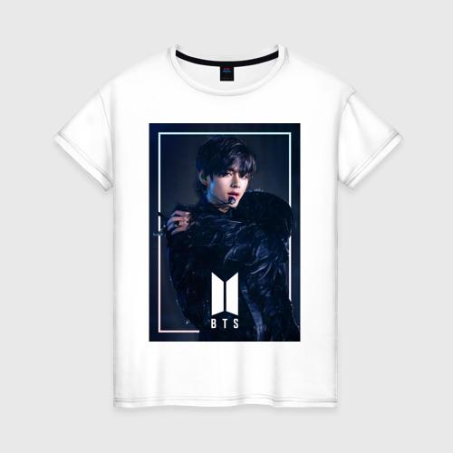 Женская футболка хлопок BTS Black Swan Фото 01