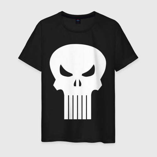 Мужская футболка хлопок The Punisher. Череп Фото 01