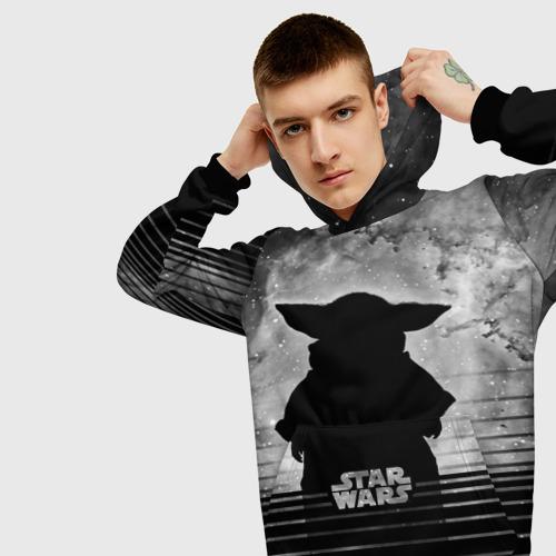 Мужская толстовка 3D Child Yoda Star wars Фото 01