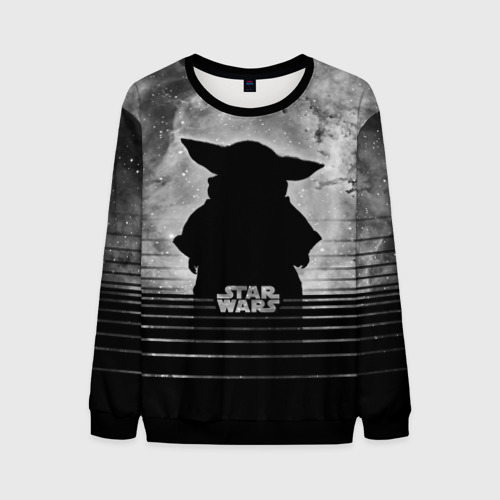 Мужской свитшот 3D Child Yoda Star wars Фото 01