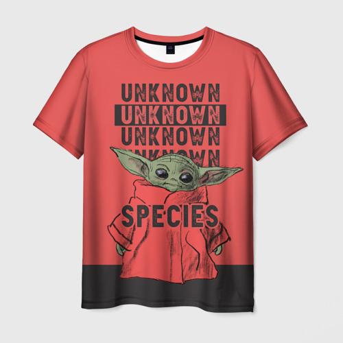 Мужская футболка 3D Child Yoda Фото 01