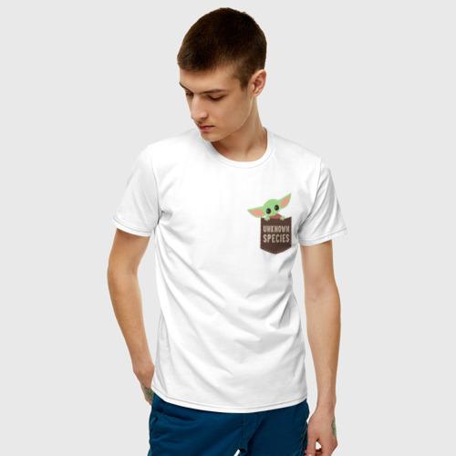 Мужская футболка хлопок Child Yoda  Фото 01