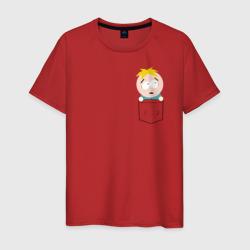 Мужская футболка хлопокБАТТЕРС