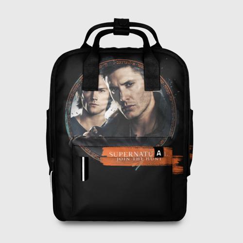 Женский рюкзак 3D Supernatural Рюкзак Фото 01