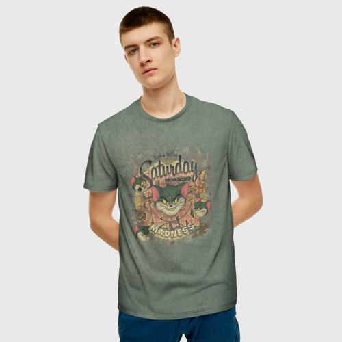 Мужская футболка 3D Saturday madness Фото 01