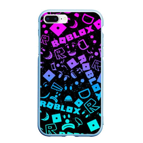Чехол для iPhone 7Plus/8 Plus матовый ROBLOX | РОБЛОКС Фото 01