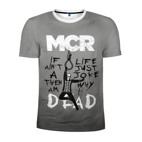 Мужская футболка 3D спортивная My Chemical Romance Фото 01