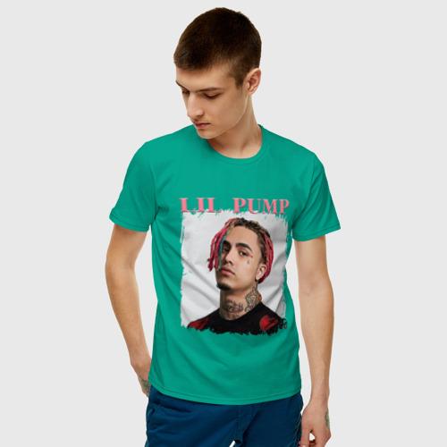 Мужская футболка хлопок LIL PUMP | ЛИЛ ПАМП (Z) Фото 01