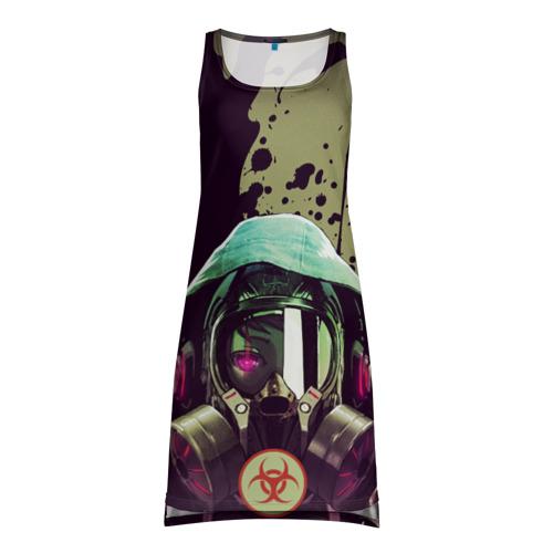 Платье-майка 3D Защитимся от COVID-19 Фото 01