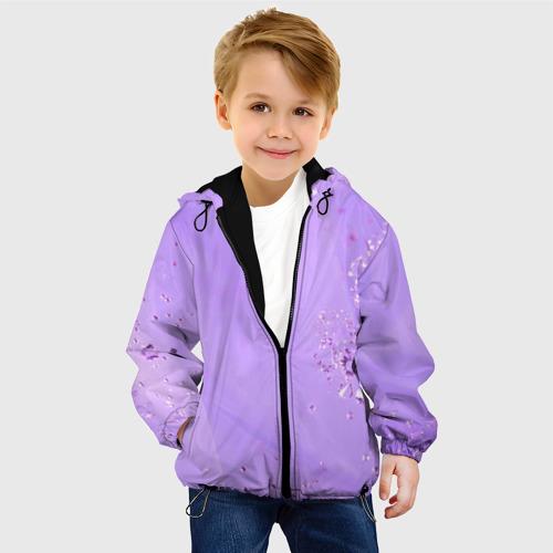 Детская куртка 3D Сиреневый цвет Фото 01