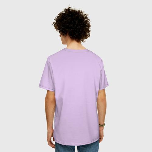 Мужская футболка хлопок Oversize Кровосток Лого   Krovostok logo (Z) Фото 01