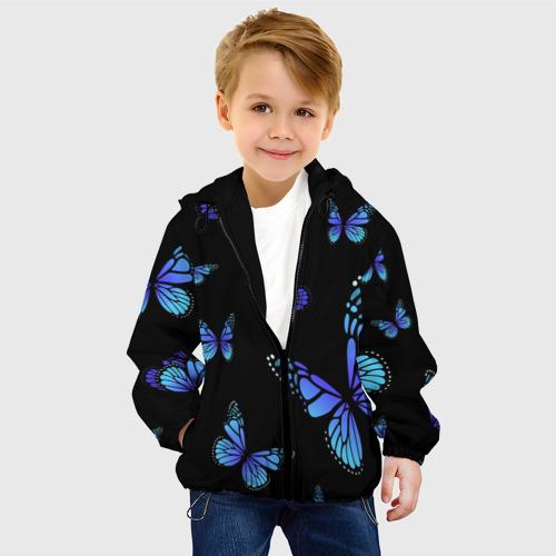 Детская куртка 3D НЕОНОВЫЕ БАБОЧКИ   BUTTERFLY NEON Фото 01