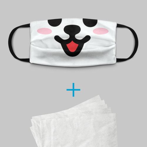 Детская маска (+5 фильтров) BTS RJ MASK Фото 01