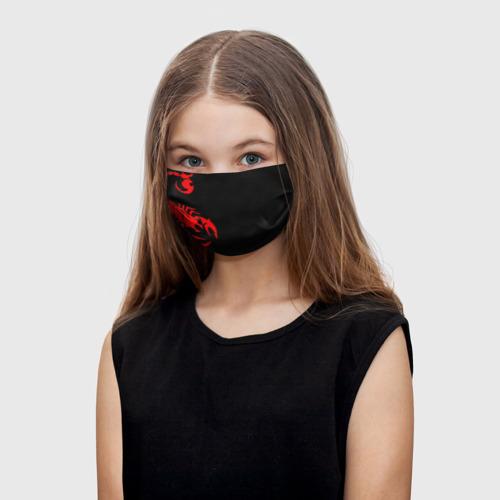 Детская маска (+5 фильтров) SCORPIONS Фото 01