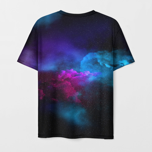 Мужская футболка 3D НЕОН КОСМОС Фото 01