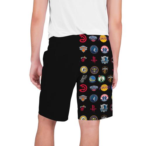 Мужские шорты 3D NBA (Team Logos 2) Фото 01