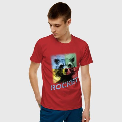Мужская футболка хлопок ROCKET Фото 01