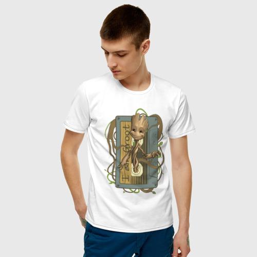 Мужская футболка хлопок Groot Фото 01