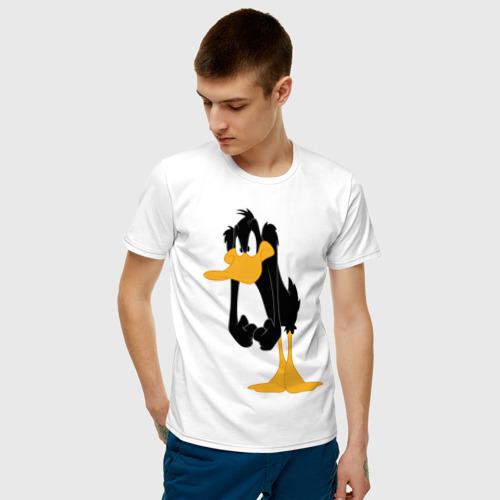 Мужская футболка хлопок Даффи Дак Фото 01