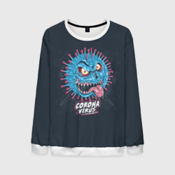 corona virus monster