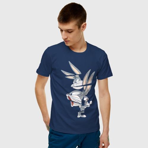 Мужская футболка хлопок Багз Банни Фото 01