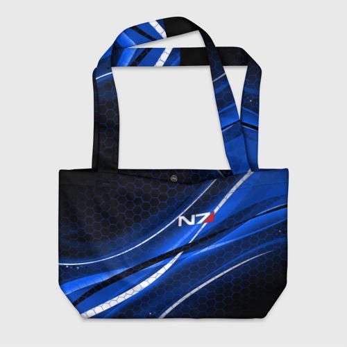 Пляжная сумка 3D MASS EFFECT N7 Фото 01