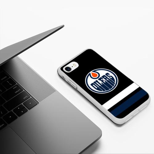 Чехол для iPhone 7/8 матовый Эдмонтон Ойлерз Фото 01