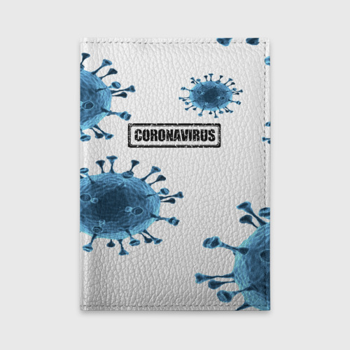 Обложка для автодокументов CORONAVIRUS One фото
