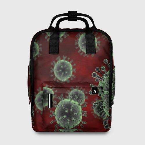 Женский рюкзак 3D COVID-19 Фото 01