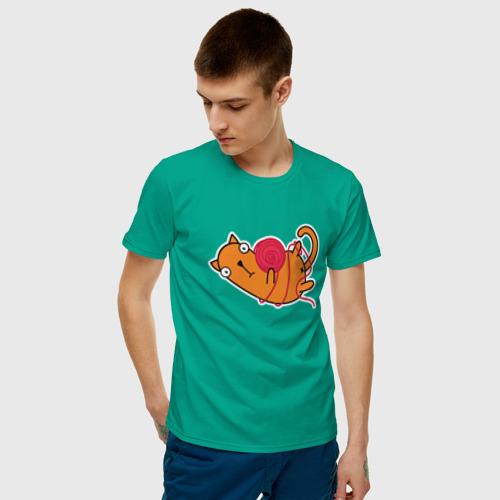 Мужская футболка хлопок What? Фото 01
