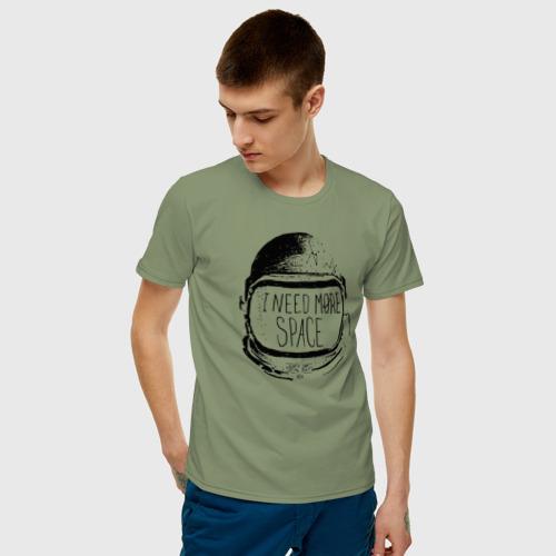 Мужская футболка хлопок Мне нужно больше места Фото 01
