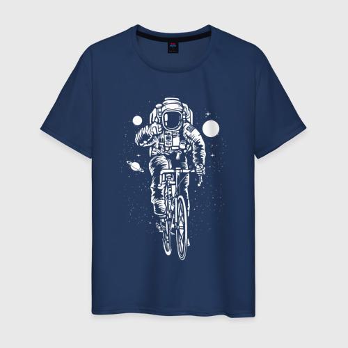Космонавт на велосипеде